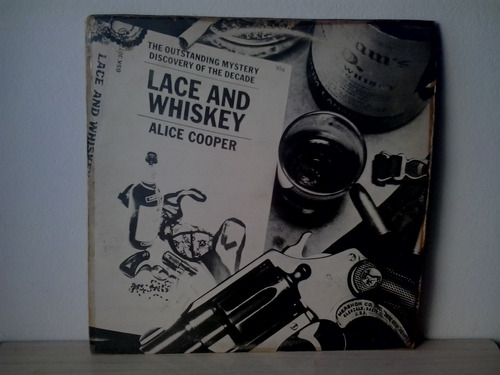 lp alice cooper . lance and whiskey c/encarte  1º edição