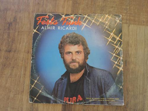 lp -  almir ricardi  festa funk / rge / 1984