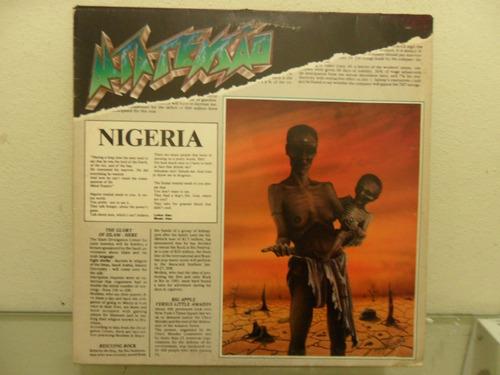 lp alta tensão - nigéria (stress, salario mínimo)