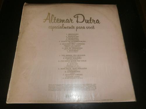 lp altemar dutra, especialmente para você, disco vinil, 1980
