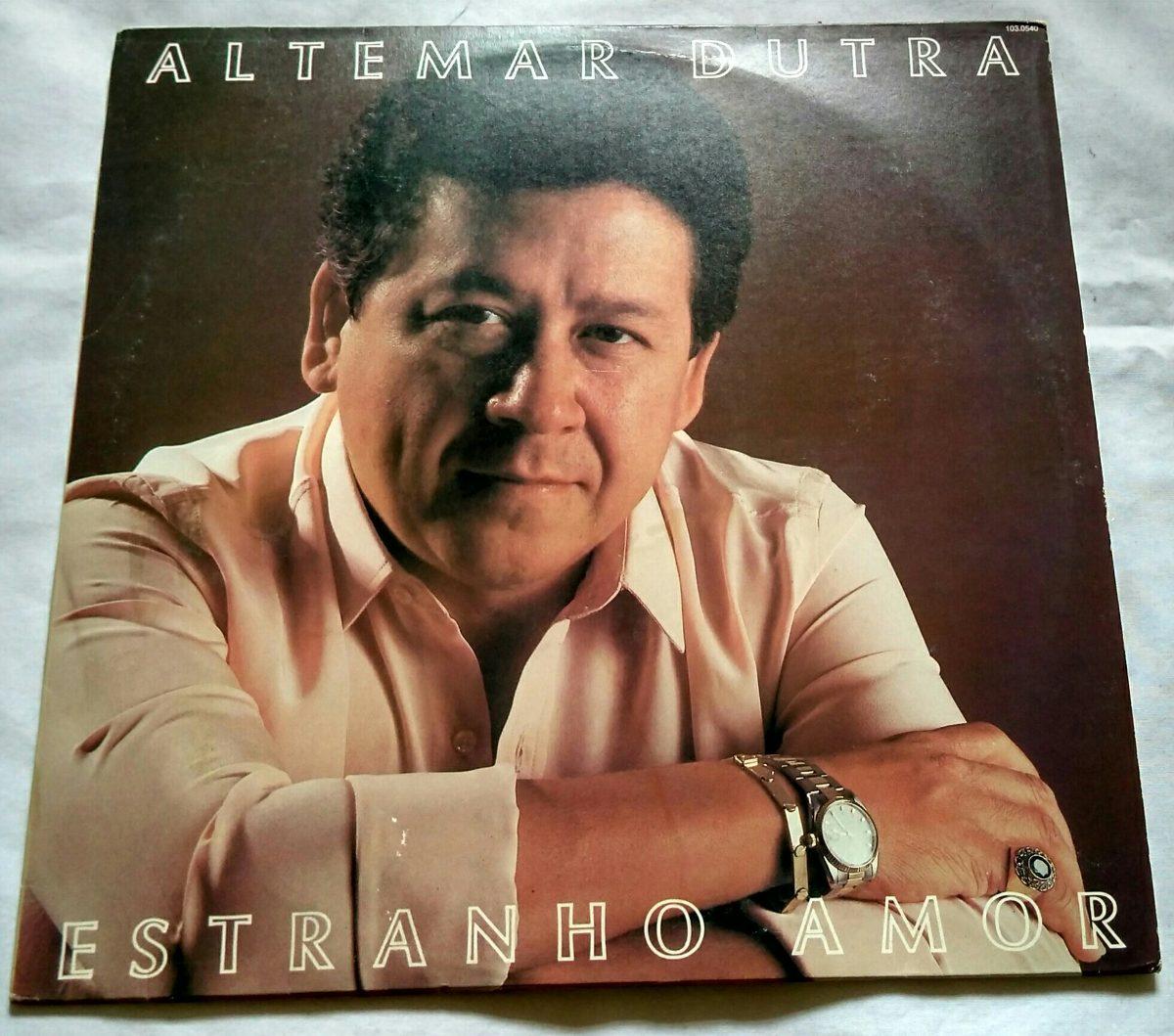 Amor Estranho Amor 1982 lp altemar dutra - estranho amor (1982)