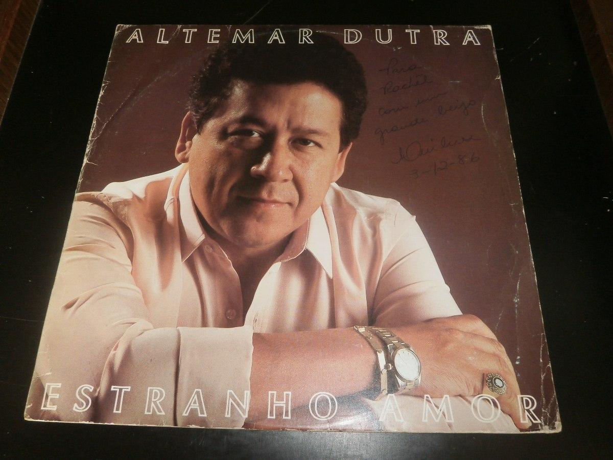 Amor Estranho Amor 1982 lp altemar dutra - estranho amor, disco vinil, ano 1982