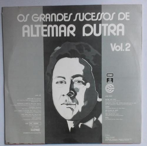 lp altemar dutra os grandes sucessos vol 2 1974 p/colecionar