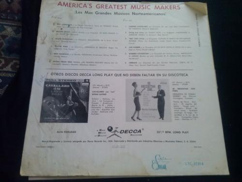 lp america's greatest hits sammy kaye y otros