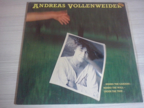 lp andreas vollenweider-behing the gardens 1981