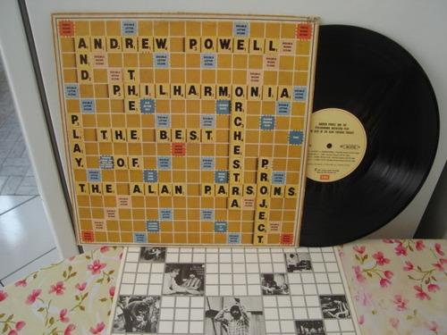 lp-andrew powell-play alan parsons project-com encarte