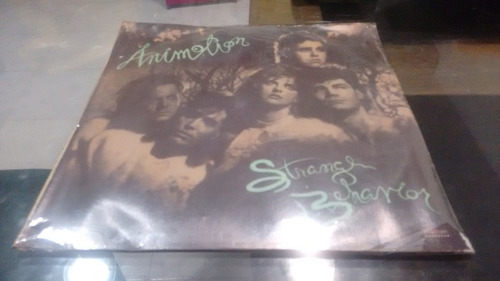 lp animotion strange behaviour en formato acetato,long play