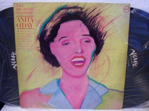 lp anita o' day the big band sessions duplo 1983 jazz