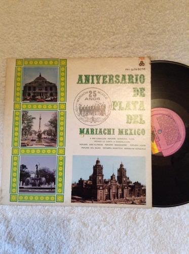 lp anivesario de plata del mariachi mexico