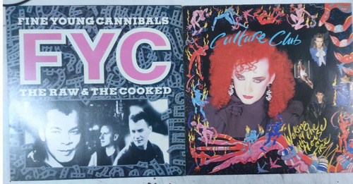 lp anos 80  lote fyc/culture club