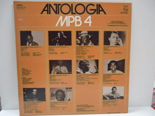 lp antologia - mpb 4 - philips- 1974 - by trekus vintage