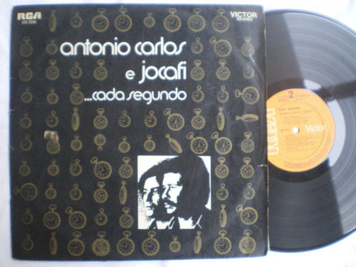 lp -antonio carlos e jocafi /cada segundo / rca victor /1972