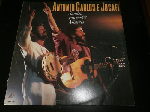 lp antonio carlos e jocafi - samba, prazer e mistério, 1994