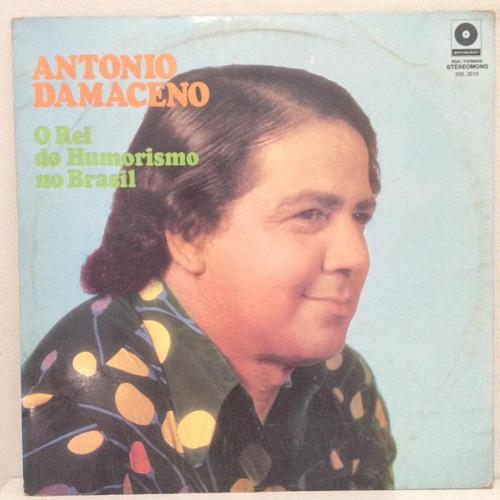 lp antonio damaceno (o rei do humorismo no brasil) hbs