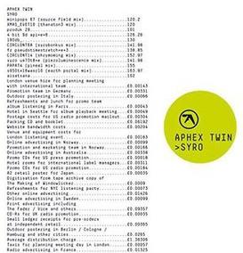 Lp Aphex Twin Syro