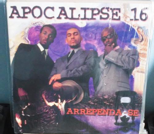 lp apocalipse 16 arrependa se pregador luo duplo 1998 raro