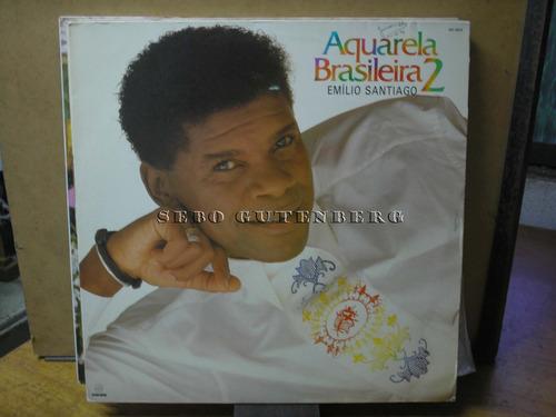 lp aquarela brasileira 2 # emílio santiago