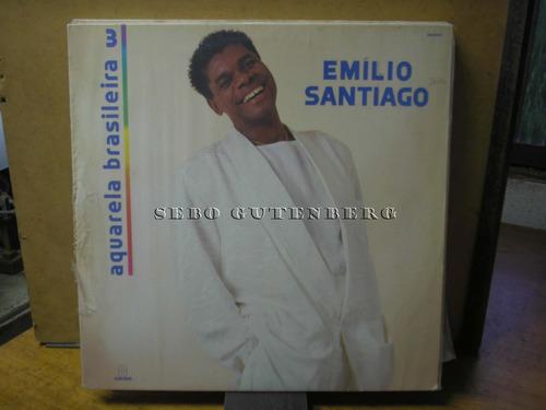 lp aquarela brasileira 3 # emílio santiago