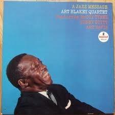 lp art blakey quartet - a jazz message
