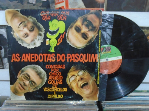 lp - as anedotas do pasquim / atlantic / 1980