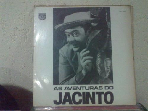 lp - as aventuras de jacinto - 1970