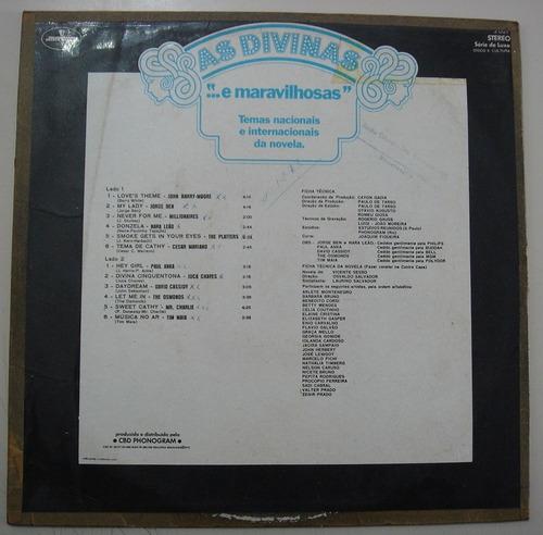 lp as divinas e maravilhosas - tema da novela (tv tupi) 1973