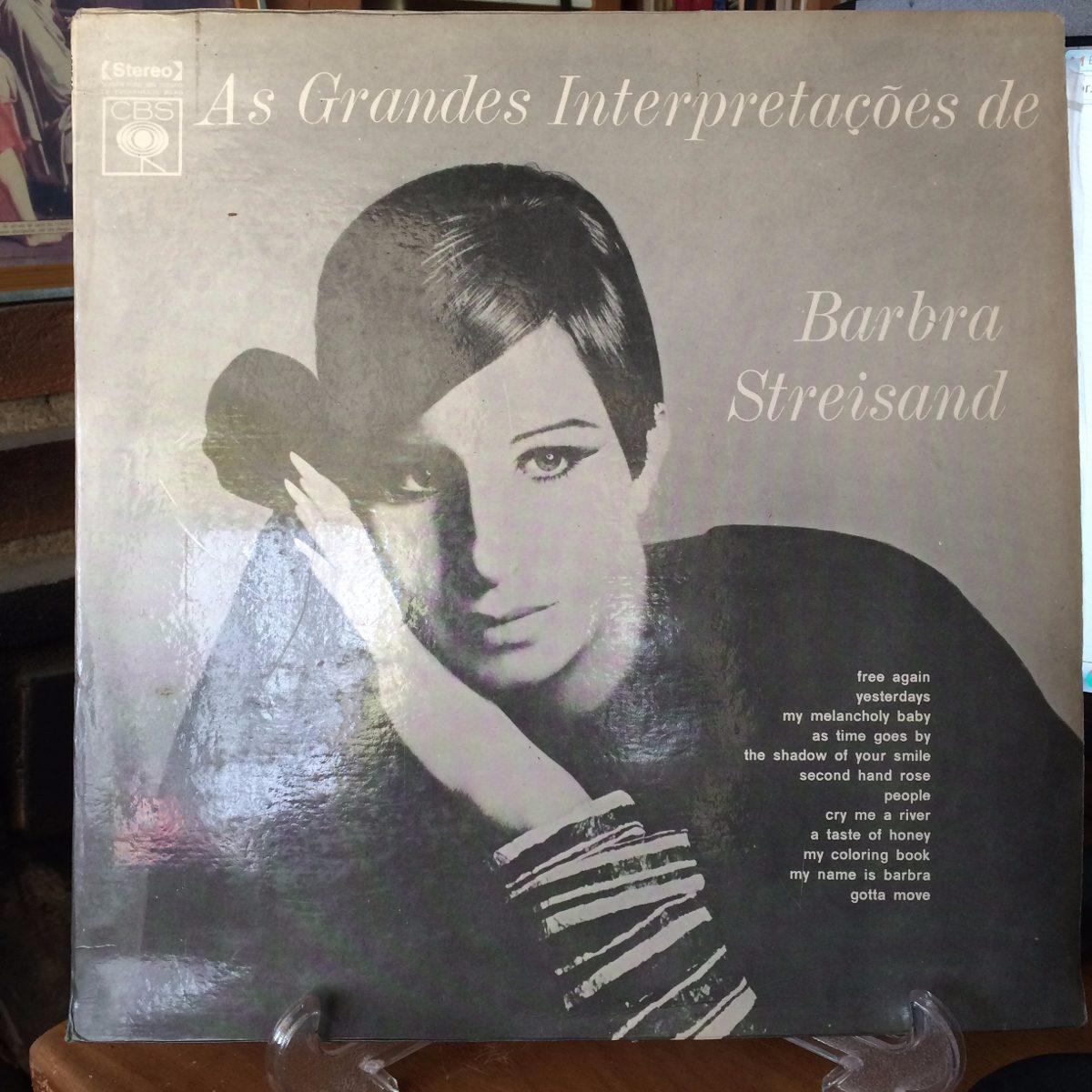 The coloring book barbra streisand - Lp As Grandes Interpreta Es De Barbra Streisand