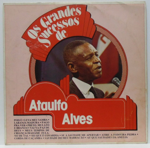 lp ataulfo alves - os grandes sucessos - 1982 - polyfar