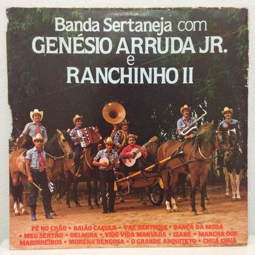 lp banda sertaneja com genésio arruda jr. e ranchinho ii