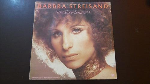 lp barbra streisand - love songs.