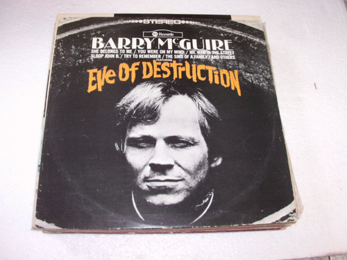 lp barry mcguire - eve of destruction  - 1976