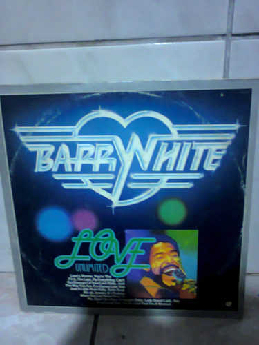 lp barry white love unlimited the best of