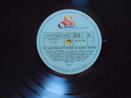 lp barry white p/1977- los más grandes éxitos