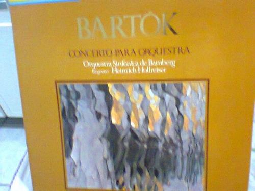 lp bartók  /  concerto para orquestra   (frete grátis)