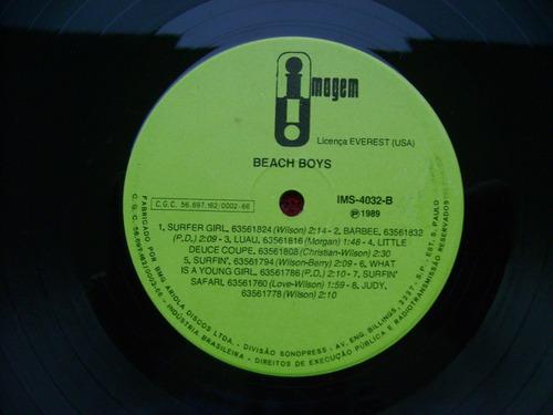 lp beach boys p/ 1989- timelees treasures