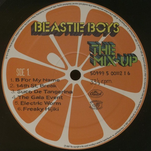 lp beastie boys the mix-up novo lacrado