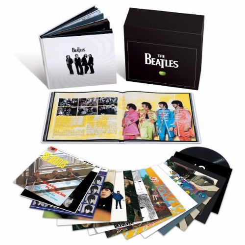 lp beatles - box set - 16 lp's - original - importados