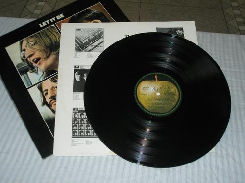 lp beatles     let  it  be     -  pouquíssimo usado  -  1970