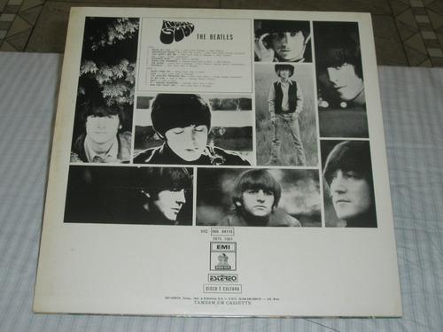 lp  beatles    rubber soul    -  novíssimo   -   1974