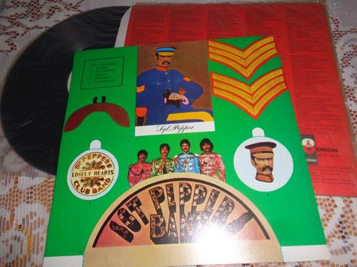lp beatles sgt peppers- original 1967, mono
