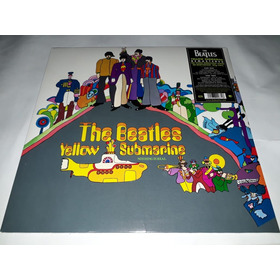 Lp Beatles Yellow Submarine  Vinil Ramaster 180g