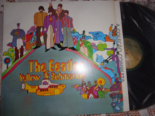 lp beatles, yellow submarine- 1988