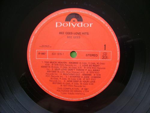lp bee gees p/1987- love hits