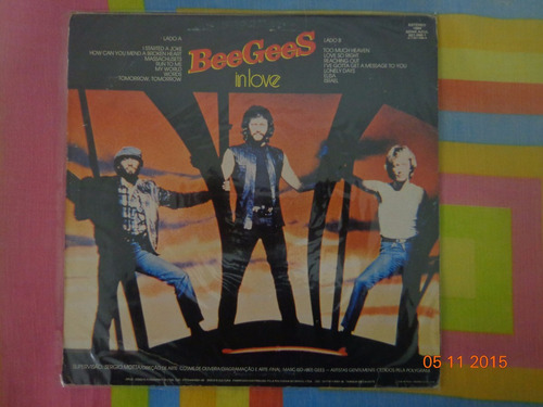 lp beegees - in love