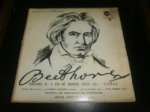 lp beethoven - sinfonia nº9 op.125 coral - jascha horenstein