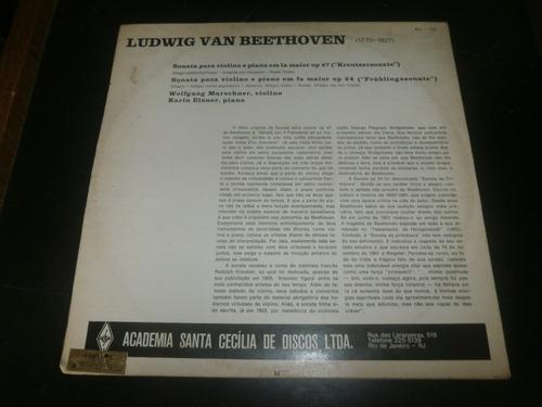 lp beethoven - sonata para violino e piano, karin elsner