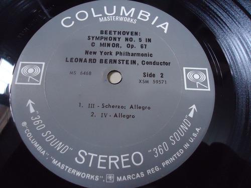 lp - beethoven: symphonies no. 5 in c minor, op. 67 & no. 7