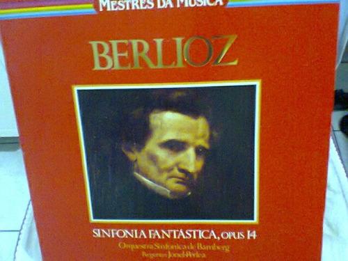 lp berlioz / sinfonia fantástica, opus 14  (frete grátis)