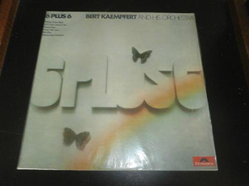lp bert kaempfert - 6 plus 6, disco vinil, ano 1973 seminovo