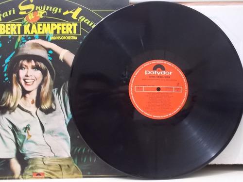 lp bert kaempfert and his orchestra - safari swings again